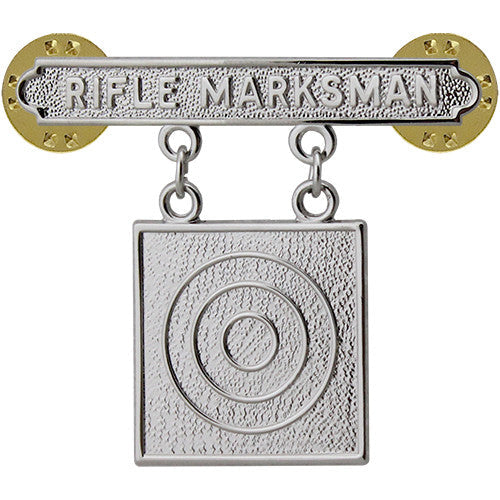 Other Militaria Diligent Army Expert Marksman Badge W Rifle Bar Qualification Militaria