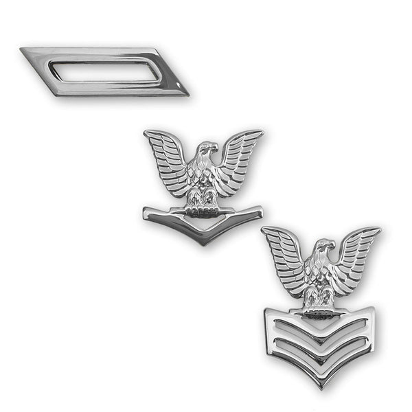 Navy Collar Insignia Rank - Single