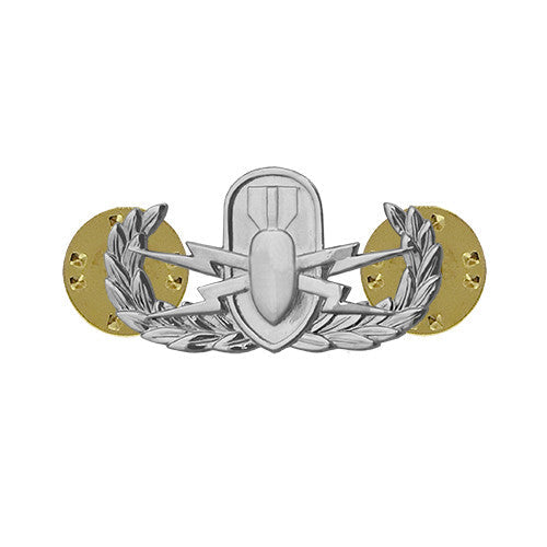 Miniature Explosive Ordnance Disposal (EOD) Badge
