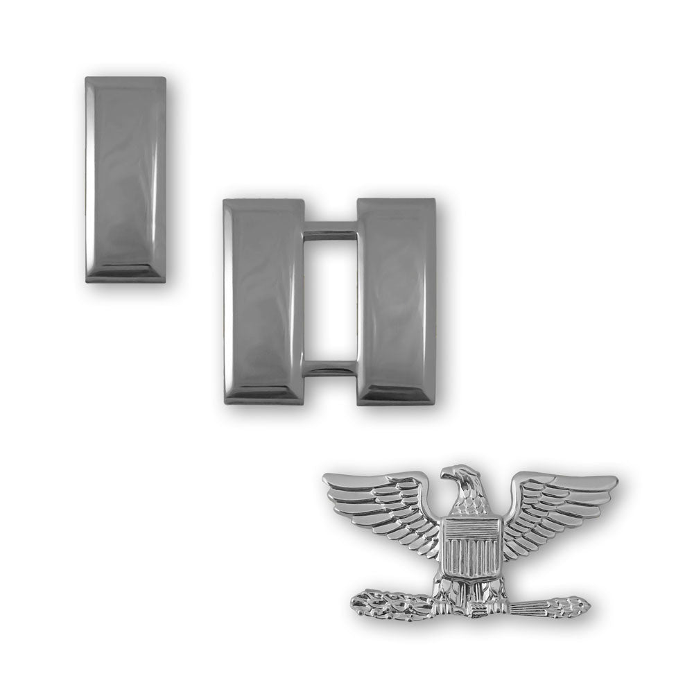 Air Force Mirror Finish Officer Rank - Miniature Size