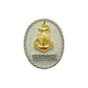 Miniature E-8 Sector Senior Chief Identification Badge