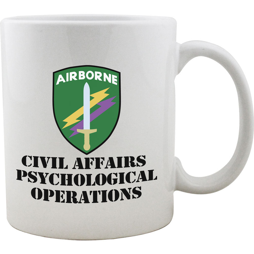 Civil Affairs Psychological Operations Mug