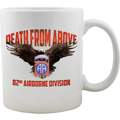 82nd Airborne Division Death From Above Mug