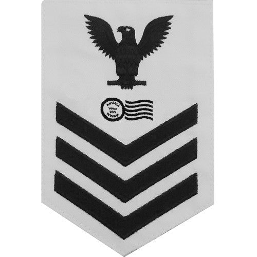 Navy E-4/5/6 Postal Clerk Rating Badges