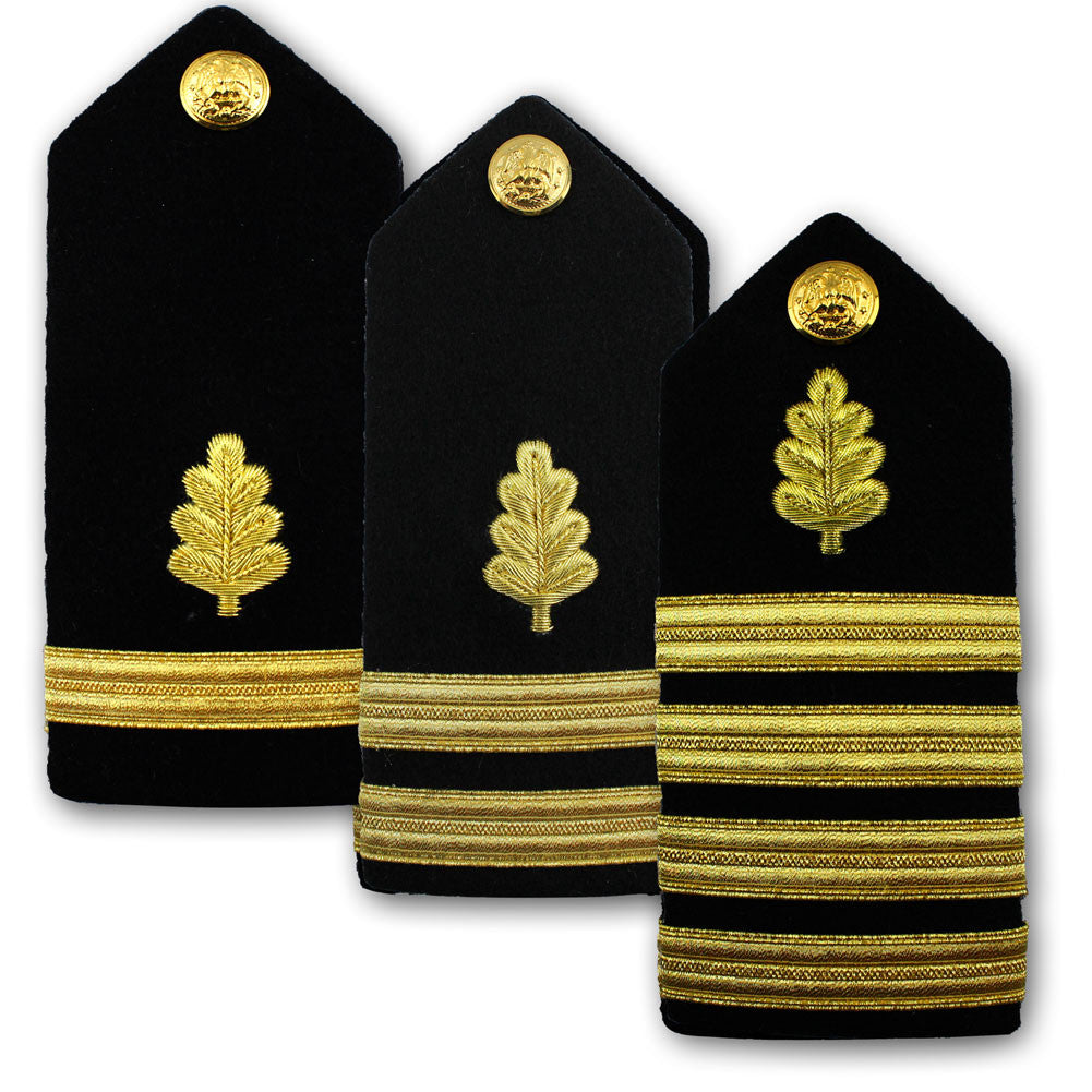 Navy Male Hard Shoulder Board - Nurse Corps