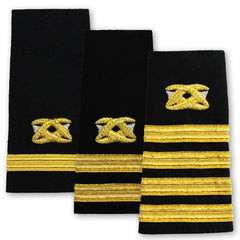 Navy Soft Shoulder Marks - Civil Engineer