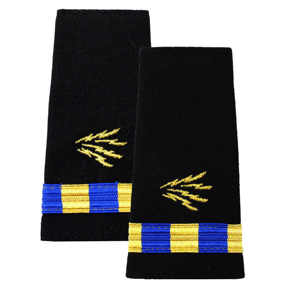 Navy Soft Shoulder Marks - Information Systems Technician