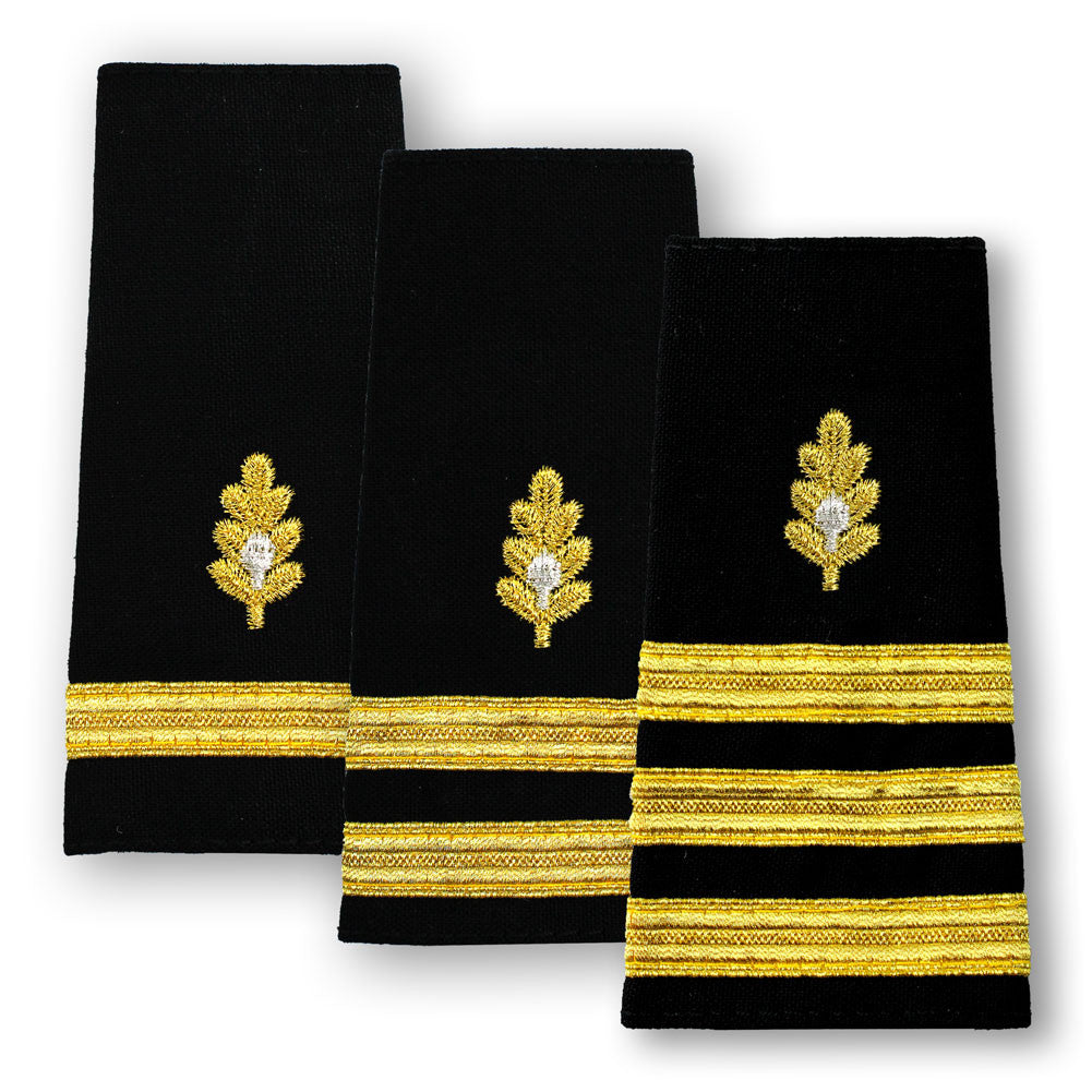 Navy Soft Shoulder Marks - Medical Corps