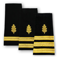 Navy Soft Shoulder Marks - Nurse Corps