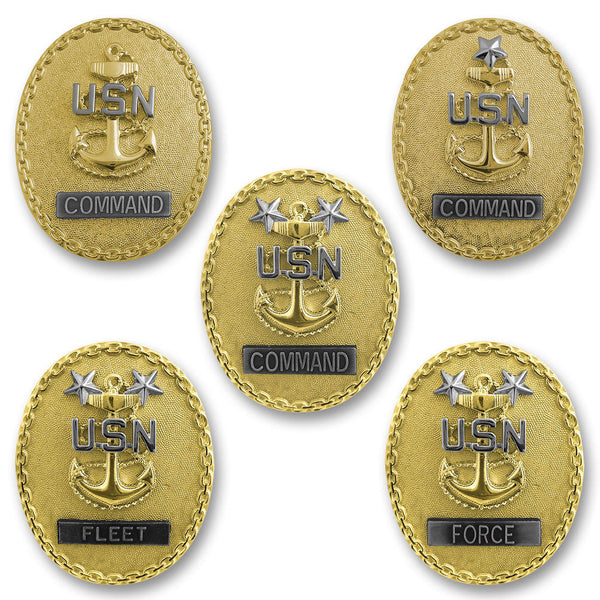Navy Chief Petty Officer Identification Badges