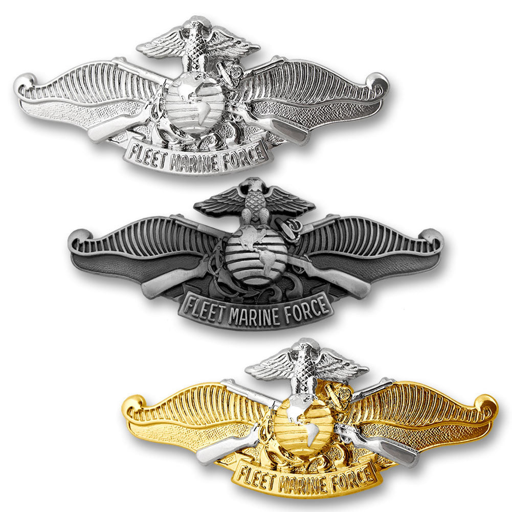 Navy Fleet Marine Force Insignias