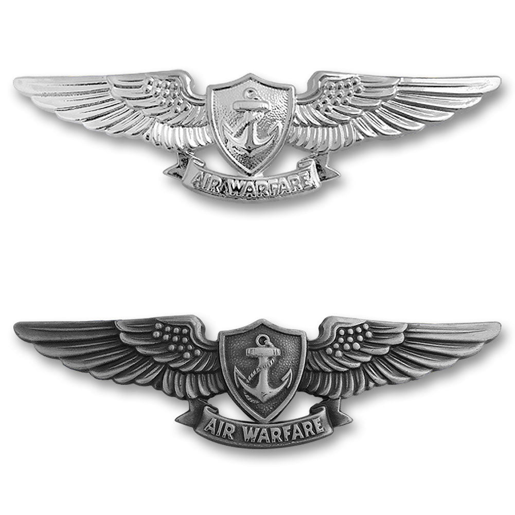 Navy Miniature Enlisted Aviation Warfare Specialist Insignias