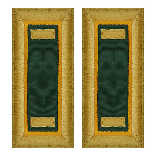Army Female Shoulder Boards - Military Police