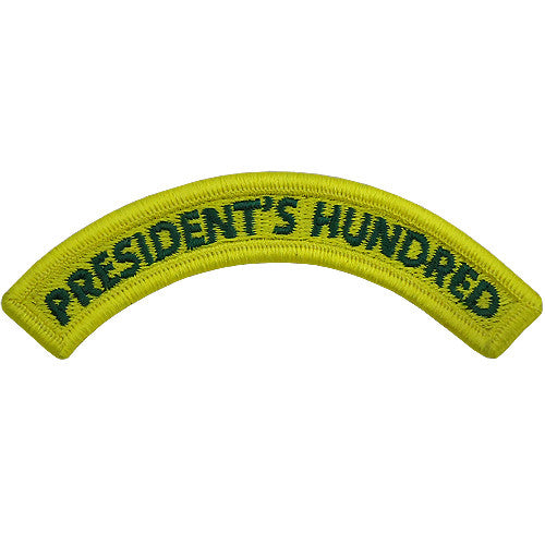 President's Hundred Class A Tab