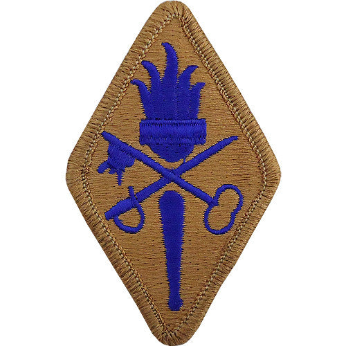 Quartermaster Training School Class A Patch