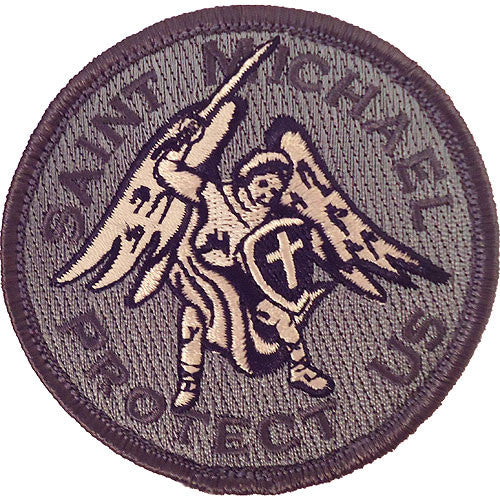 Saint Michael Protect Us ACU Patch