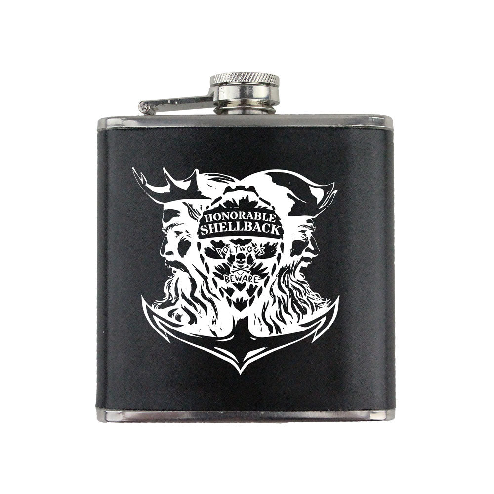 Honorable Shellback 6 oz. Flask with Wrap