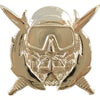 Special Operations Diver Instructor Badge - Silver Oxidized