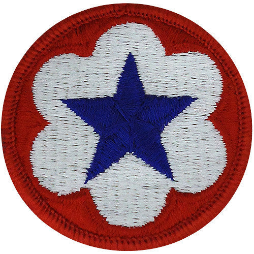 Staff Support Trial Defense Class A Patch