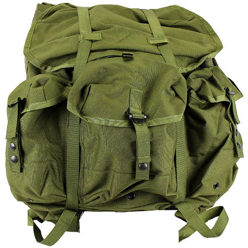 Government Issue Type Large Size Alice Pack with Frame - Olive Drab