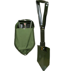 Tri-Fold E-Tool Shovel with Cover
