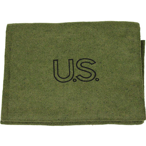 Army Olive Drab Virgin Wool Blanket