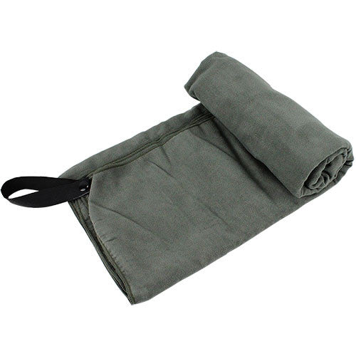 Foliage Green Microfiber Towel