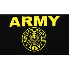 Army Black and Gold 3' x 5' Flag