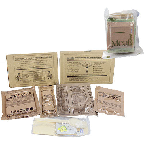 Individual MRE (Meal-Ready-to-Eat) - Single Pack
