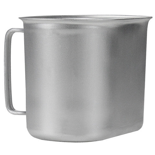 G.I.-Style Aluminum Canteen Cup
