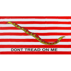 Don't Tread On Me 3' x 5' Navy Jack Flag