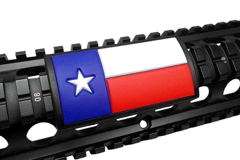 Texas Flag Rail Covers