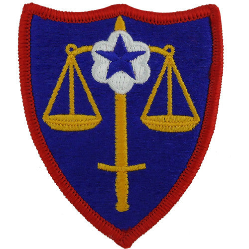 Trial Defense Service Class A Patch