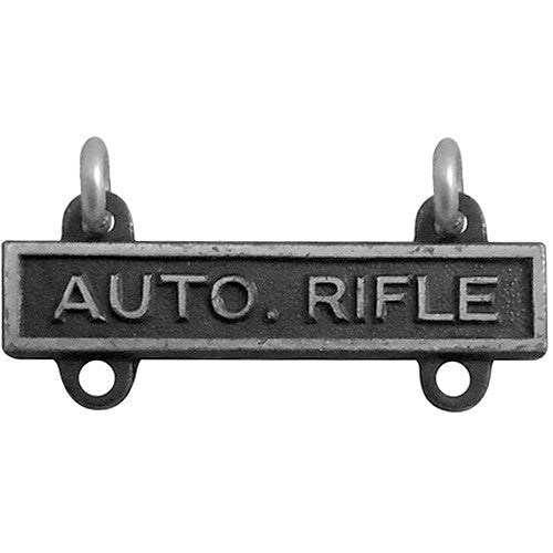 Automatic Rifle Bar - Silver Oxidized