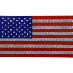 Full Color Infrared U.S. Flag Patch - Forward