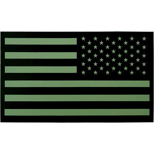 Subdued Infrared Reverse U S Flag Patch Usamm