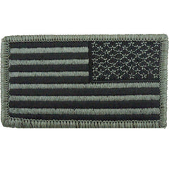 Subdued ACU U.S. Flag Patch - Reverse