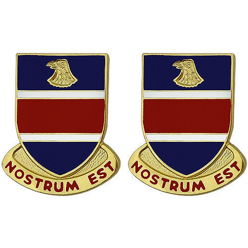 326th Engineer Battalion Unit Crest (Nostrum Est)