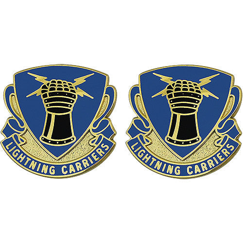 373rd Quartermaster Battalion Unit Crest (Lightning Carriers)