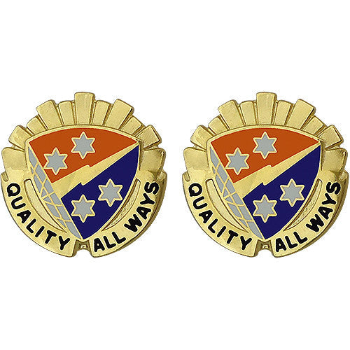 369th Signal Battalion Unit Crest (Quality All Ways)
