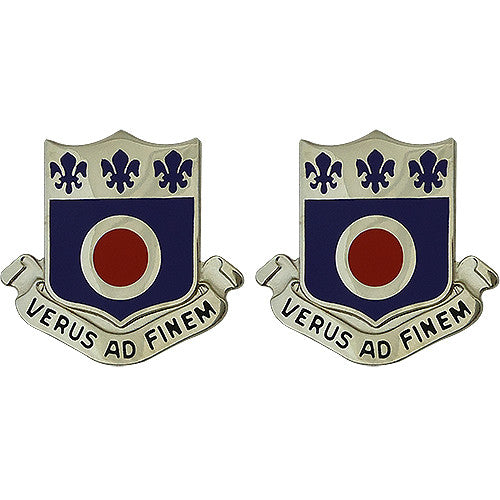 330th Regiment Brigade Combat Team USAR Unit Crest (Verus Ad Finem)
