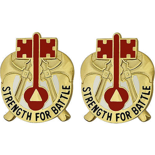 373rd Combat Sustainment Support Battalion Unit Crest (Strength For Battle)