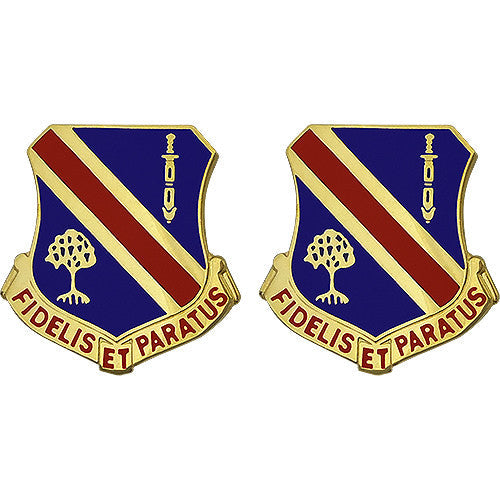 237th Brigade Support Battalion Unit Crest (Fidelis Et Paratus)