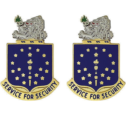 Indiana National Guard Unit Crest (Service For Security)