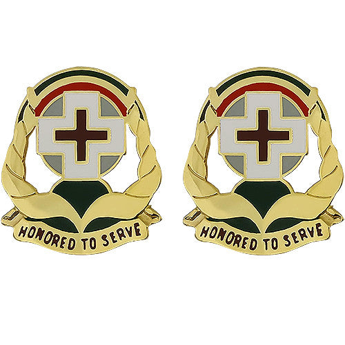 Hospital Asmara Kagnew Station Unit Crest (Honored To Serve)
