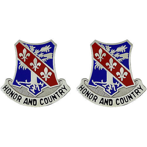 327th Infantry Unit Crest (Honor And Country)