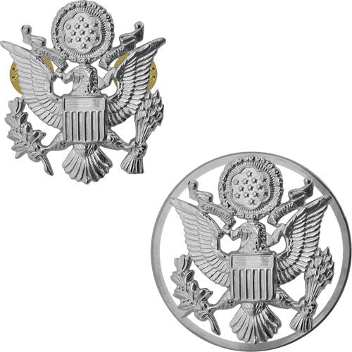 Air Force Service Cap Devices - Officer and Enlisted