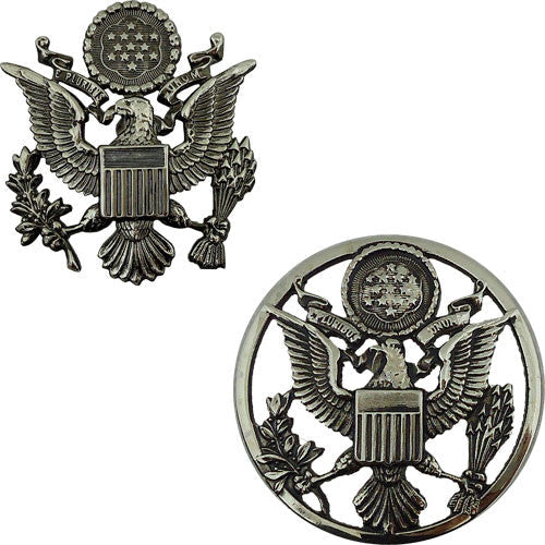 Air Force Service Cap Devices - High Relief - Officer and Enlisted