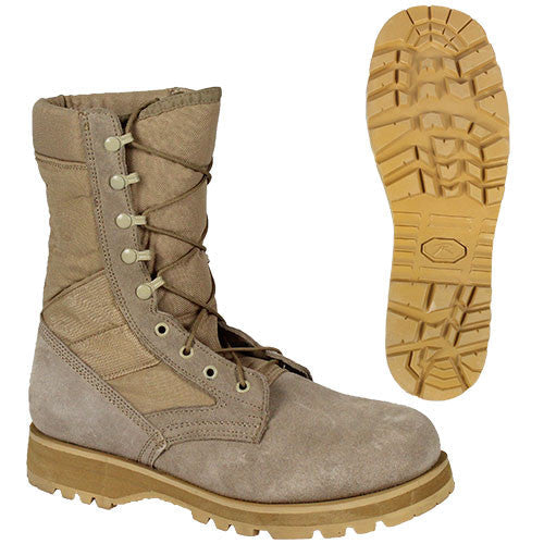 Sierra Sole ACU Desert Tan Boots - Men's Size
