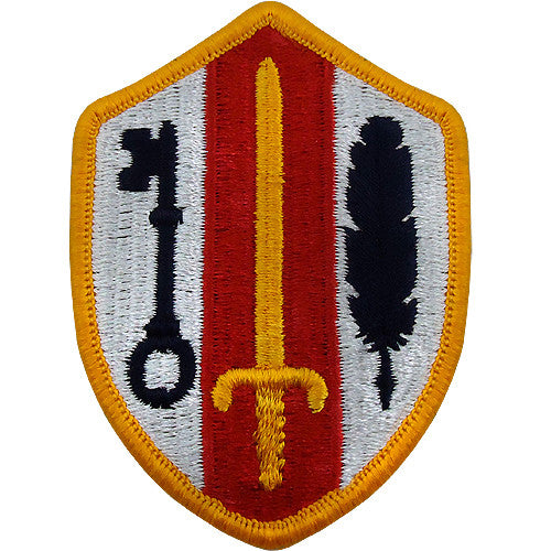 Army reserve readiness command class a patch usamm for Army emergency reserve decoration
